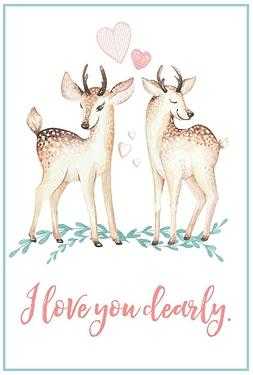 Free-Printable-Valentines-Day-Card-deer-1