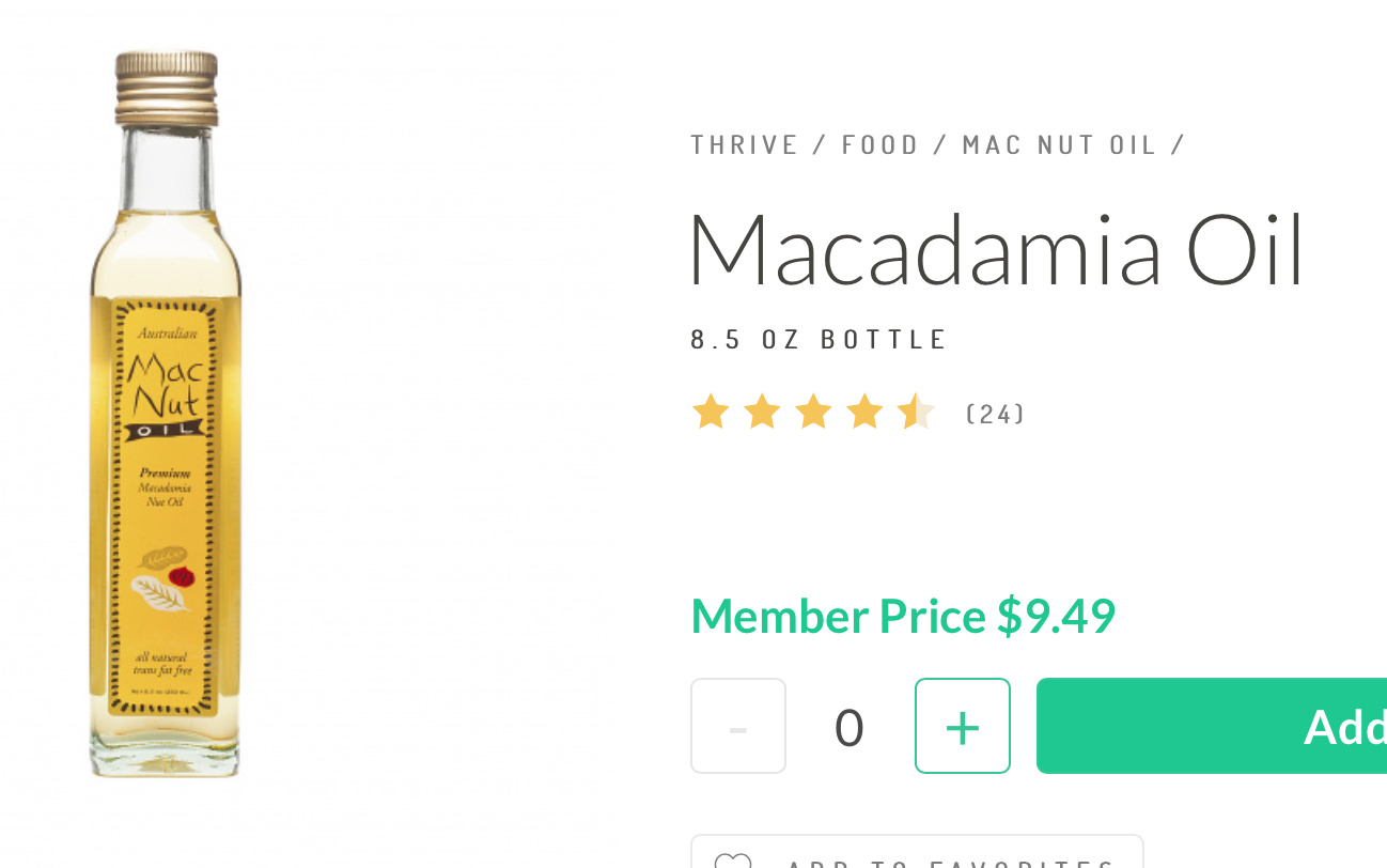 Why aren't people using macadamia oil? - Ketogenic Forums
