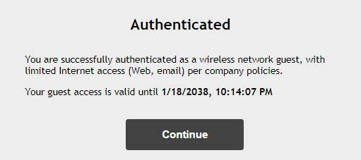 WifiAuthentication
