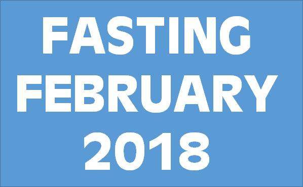 FastingFebruary2018